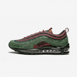 Nike Air Max 97 NRG AT6145 600 Multicolore Team Red/Midnight Spruce Running Shoes