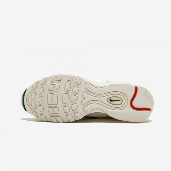 Nike Air Max 97 OG/UNDFTD AJ1986 100 White Sail/Speed Red-White Running Shoes