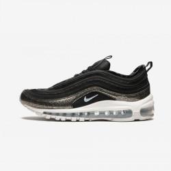 Nike Air Max 97 Pinnacle QS (GS) AH9153 001 Black Black/Black-Glacier Blue Running Shoes