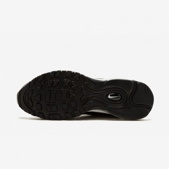 Nike Air Max 97 / Plus AH8144 001 Black Black/Anthracite-White Running Shoes