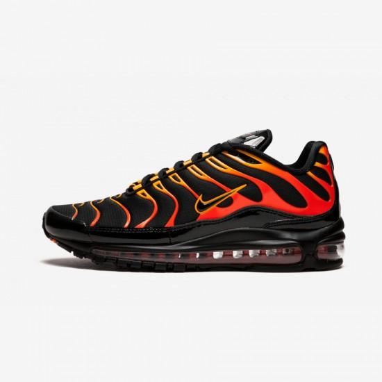 Nike Air Max 97 / Plus AH8144 002 Black Black/Black-Engine Running Shoes
