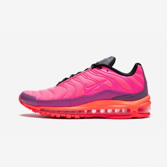 Nike Air Max 97 / Plus AH8144 600 Orange Racer Pink/Hyper Magenta Running Shoes