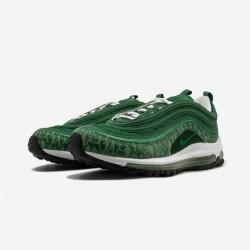 "Nike Air Max '97 ""Powerwall"" 314203 331 Green Pine Green/Pine Green-White Running Shoes"
