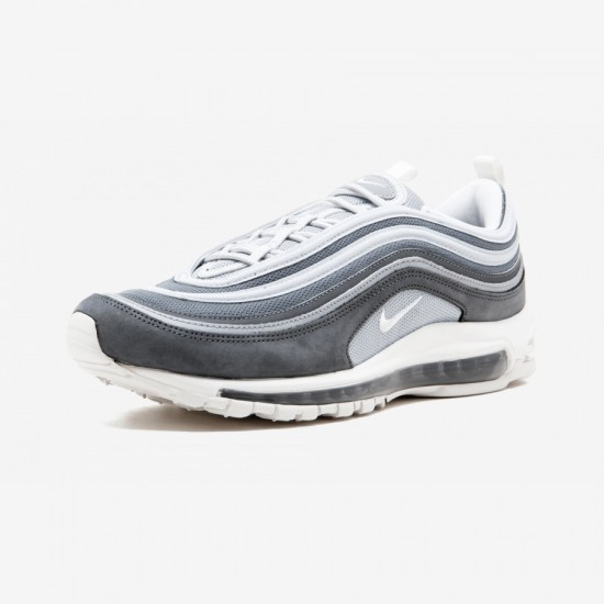 Nike Air Max 97 Premium 312834 005 Grey Wolf Grey/Summit White Running Shoes