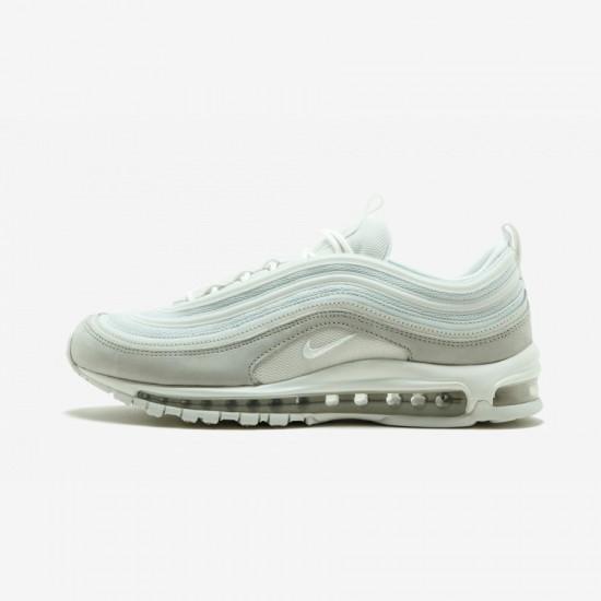 Nike Air Max 97 Premium 312834 006 Grey Light Bone/Summit White Running Shoes