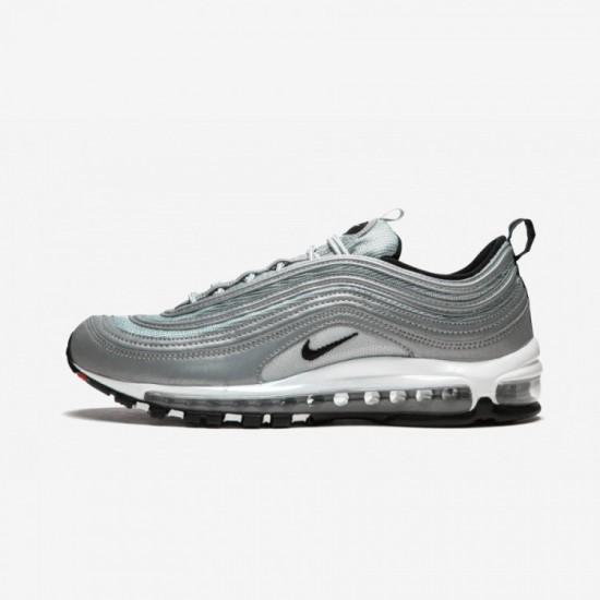 Nike Air Max 97 Premium 312834 007 Black Reflect Silver/Black Running Shoes