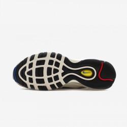Nike Air Max 97 Premium 312834 102 White Paint Splatter Sail Amarillo U Running Shoes