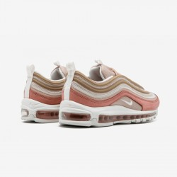 Nike Air Max 97 Premium 312834 200 Brown Particle Beige/Summit White Running Shoes