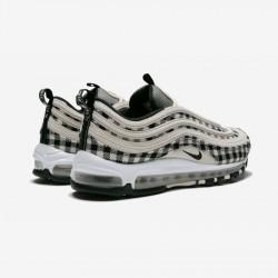 Nike Air Max 97 Premium 312834 201 Beige Light Cream / Black-Sail Running Shoes