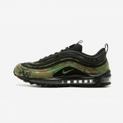 "Nike Air Max 97 Premium 97 ""Country Camo - Japan"" AJ2614 203 Pale Olive/Black-Safari Running Shoes"