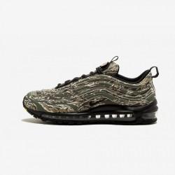 Nike Air Max 97 Premium QS AJ2614 205 Oliva Medium Olive/Black-Desert Sand Running Shoes