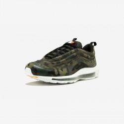 "Nike Air Max 97 Premium QS ""Country Camo France"" AJ2614 200 Medium Olive/Black-Dark Army Running Shoes"