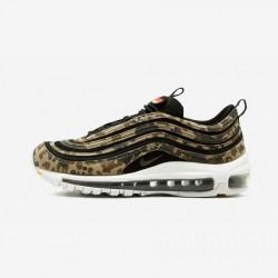"Nike Air Max 97 Premium QS ""Country Camo - Germany"" AJ2614 204 Bamboo/Black-Dk Khaki-Sequoia Running Shoes"