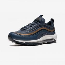 Nike Air Max 97 SE (GS) 923288 400 Blue Thunder Blue/Dark Obsidian Running Shoes