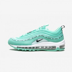 """Nike Air Max 97 SE (GS) """"Have A Nike Day - Tropical Twist"""" 923288 300 Green Tropical Twist/Black-Teal Tint Running Shoes"""