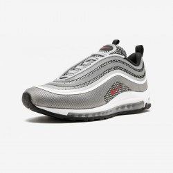 Nike Air Max 97 UL '17 918356 003 Red Metallic Silver/Varsity Red Running Shoes