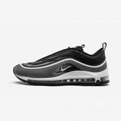 Nike Air Max 97 Ul '17 918356 006 Black Black/White Running Shoes