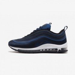 Nike Air Max 97 UL '17 918356 401 Navy Gym Blue/Obsidian-Summit White Running Shoes