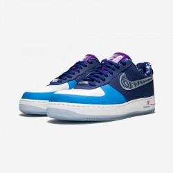 "Nike Womens Air Force 1 Low DB ""DOERNBECHER"" BV7165 400 Blue Deep Royal Blue/Clear Running Shoes"