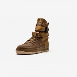 Nike Womens SF AF1 857872 200 Beige Golden Beige/Golden Beige Running Shoes