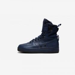 Nike Womens SF AF1 857872 400 Navy Binary Blue / Binary Blue-Blac Running Shoes
