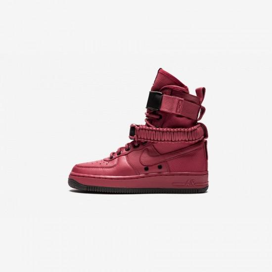 Nike Womens SF AF1 857872 600 Black Cedar/Cedar-Black Running Shoes