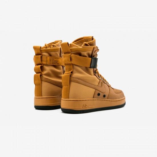 Nike Womens SF AF1 857872 700 Black Desert Ochre/Desert Ochre Running Shoes