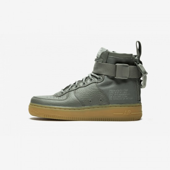 Nike Womens SF AF1 Mid AA3966 004 Gomma Darkstucco/Darkstucco Running Shoes