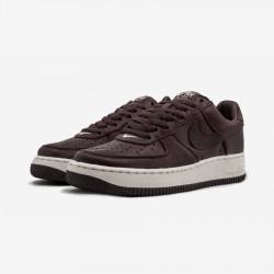Nike Womens Air Force 1 Premium 309439 661 Red Redwood/Redwood-Sail Running Shoes