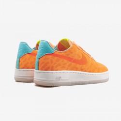 Nike Womens Air Force 1 TXT 845113 600 Orange Peach Cream/Total Gold/Hyper T Running Shoes