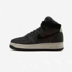Nike Womens Air Force 1 Hi SE 860544 003 Black Black / Dark Grey-Cobblestone Running Shoes