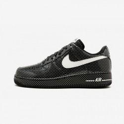 Nike Womens Air Force 1 Premium '07 315186 013 Black Black/Swan Running Shoes