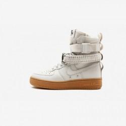 Nike Womens SF AF 1 857872 004 Brown Light Bone/Light Bone Running Shoes