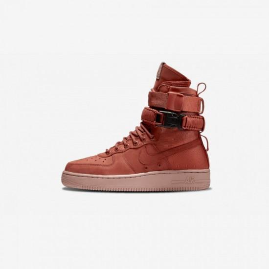 Nike Womens SF AF1 857872 202 Pink Dustypeach/Dustypeach Running Shoes
