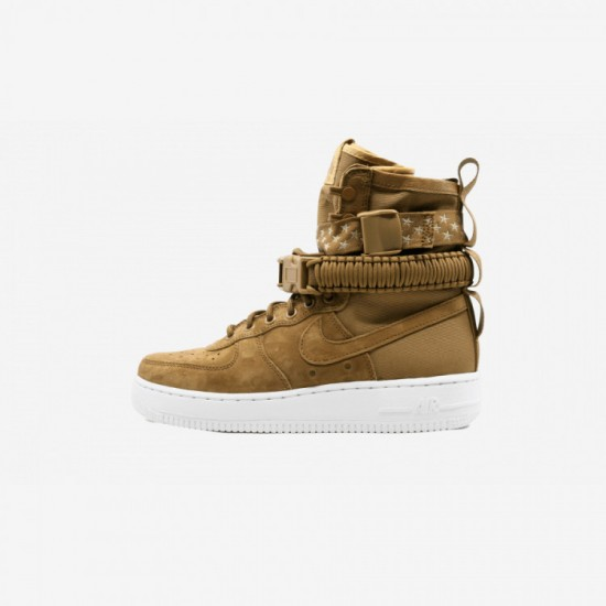 Nike Womens SF AF1 857872 203 Brown Muted Bronze / Muted Bronze - Running Shoes