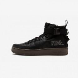 Nike Womens SF AF1 Mid AA3966 003 Black Black/Black-Dark Hazel Running Shoes