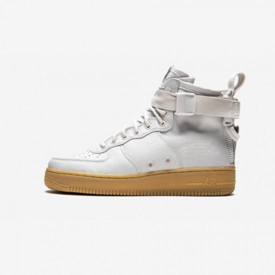 Nike Womens SF AF1 Mid AA3966 005 Brown Vast Grey/Vast Grey Running Shoes