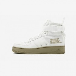 Nike Womens SF AF1 Mid AA3966 100 White Ivory/Ivory-Mars Stone Running Shoes
