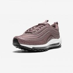 Nike Womens Air Max 97 LEA AQ8760 200 Grey Smokey Mauve/Smokey Mauve Running Shoes