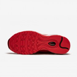 "Nike Womens Air Max 97 ""Leopard Pack - Red"" BV6113 600 Black University Red/Black-Print Running Shoes"