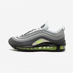 "Nike Womens Air Max 97 ""Neon"" 921733 003 Neon Green Dark Grey/Volt-Stealth Running Shoes"
