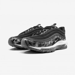 Nike Womens Air Max 97 PRM 917646 005 Black Black/Coolgrey-Black Running Shoes