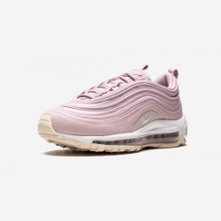 Nike Womens AIr Max 97 PRM 917646 500 Pink Plum Chalk/Light Cream Running Shoes