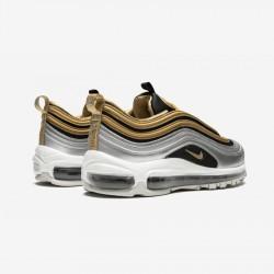 Nike Womens Air Max 97 SE AQ4137 700 Gold Metallic Gold/Metallic Gold Running Shoes