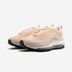 "Nike Womens Air Max 97 SE ""Guava Ice"" AQ4137 800 Black Guava Ice/White-Black Running Shoes"