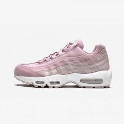 Nike Womens Air Max 95 Premium 807443 503 Pink (Plum Chalk/Summit White/Light Running Shoes