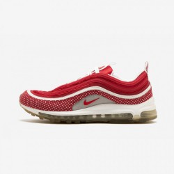 Nike Womens Air Max 97 312461 661 Red Vrsty Red/Vrsty Red-White Running Shoes