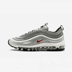 Nike Womens Air Max 97 OG QS 885691 001 Red Metallic Silver/Varsity Red Running Shoes
