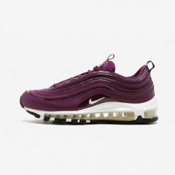 Nike Womens Air Max 97 PRM 917646 601 Violet Bordeaux/Muslin-Black Running Shoes