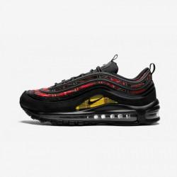 Nike Womens Air Max 97 SE TarTan AV8220 001 Black Black/Black-University Red Running Shoes